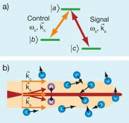 Electromagnetically Induced Transparency and electron spin